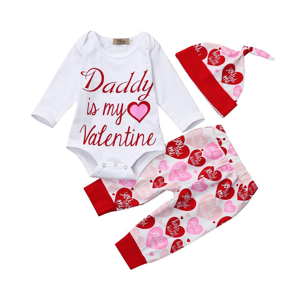 2393955d1 Bebé niño recién nacido chica pantalones sombrero día de San ...
