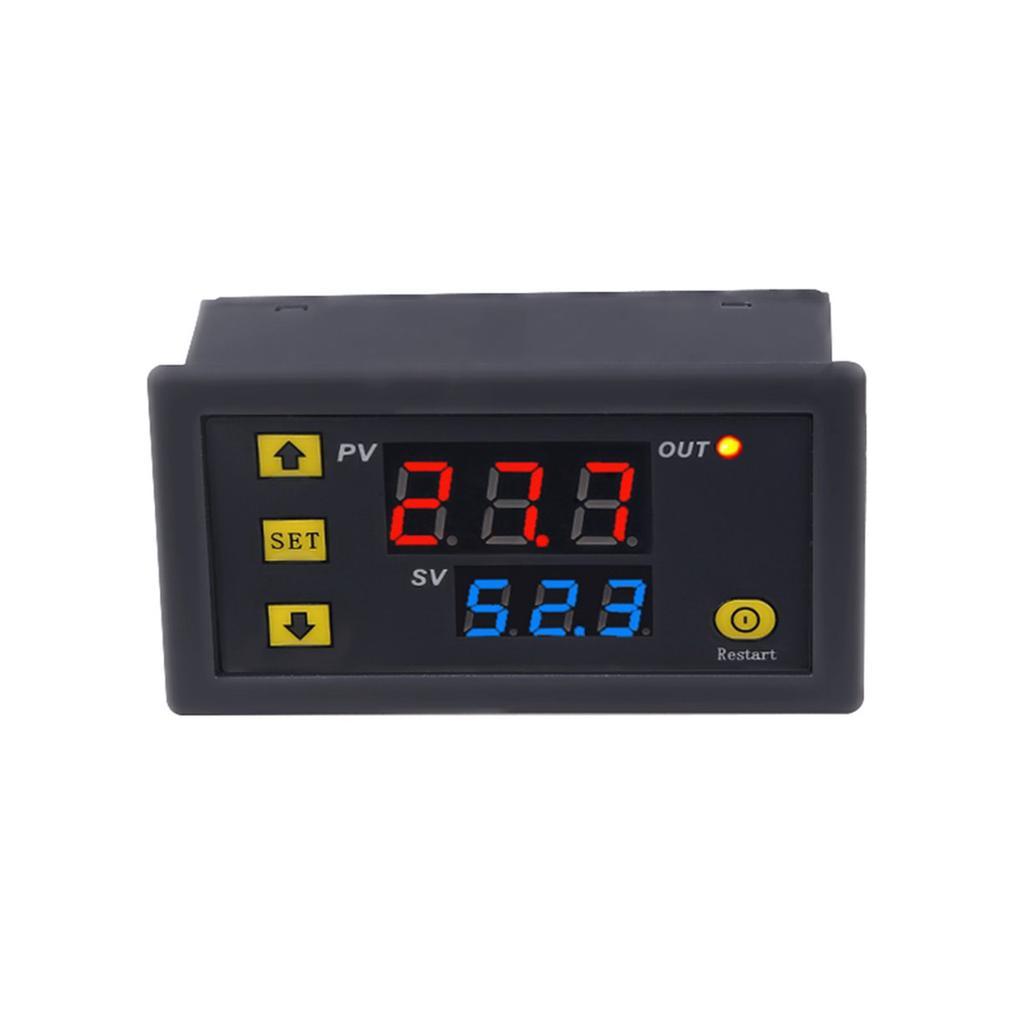 W3230 LCD 24V 20A Digital Thermostat Temperature Controller Meter Regulator