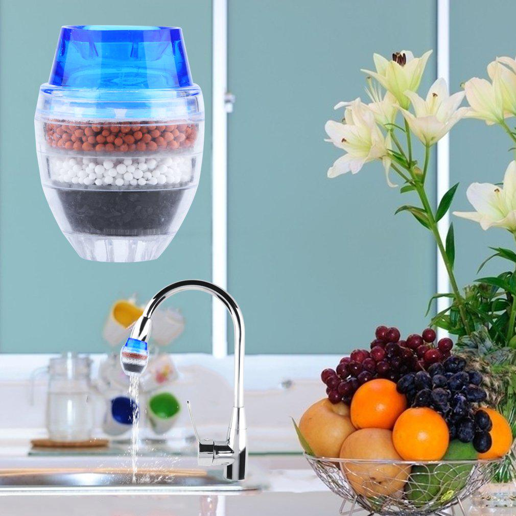 Coconut Activated Carbon Faucet Tap Water Clean Purifier Filter Home ` ma72