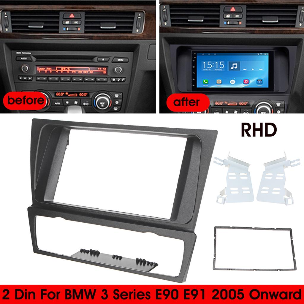 BMW 3 Series E90 E91 E92 E93 Trim Panel Dashboard Dash Cover Light Control Unit