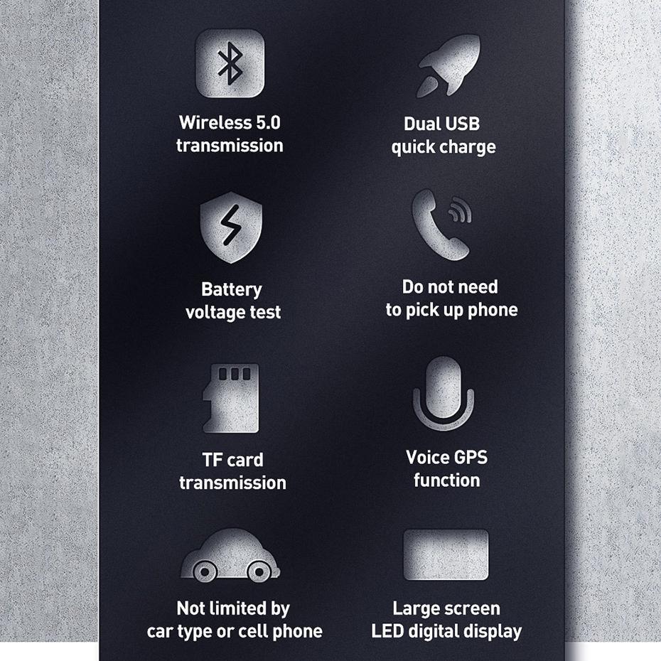 Baseus Fm Modulator Transmitter Bluetooth 5 0 Fm Radio 3 1a Usb Car Charger Handsfree Car Kit Wireless Aux Audio Fm Transmiter Buy From 14 On Joom E Commerce Platform