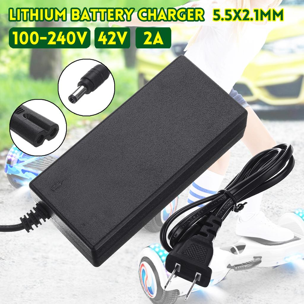 42V 2A Charger For 36V Li-ion Lithium Battery Self-Balanced Two-Wheel Vehicle