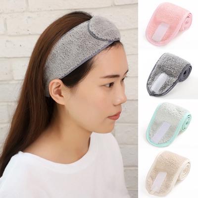 Women Towel Hair Band Wrap Wide Headband Spa For Bath Yoga Sport Make Up