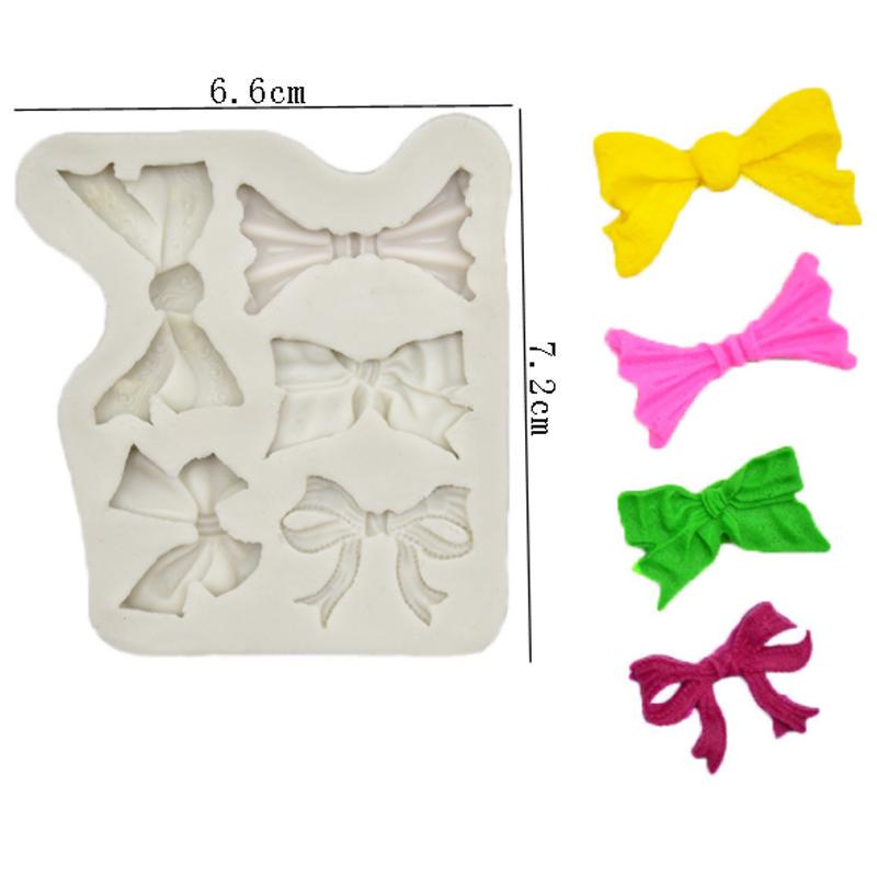 Details about  /Various Sizes Bow Silicone Mold Fondant Mould Cake Decorating Tools Chocolate Gu