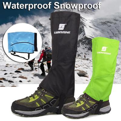 Outdoor Climbing Sandproof Short Leg Gaiters Snow Legging Leg Cover Wraps