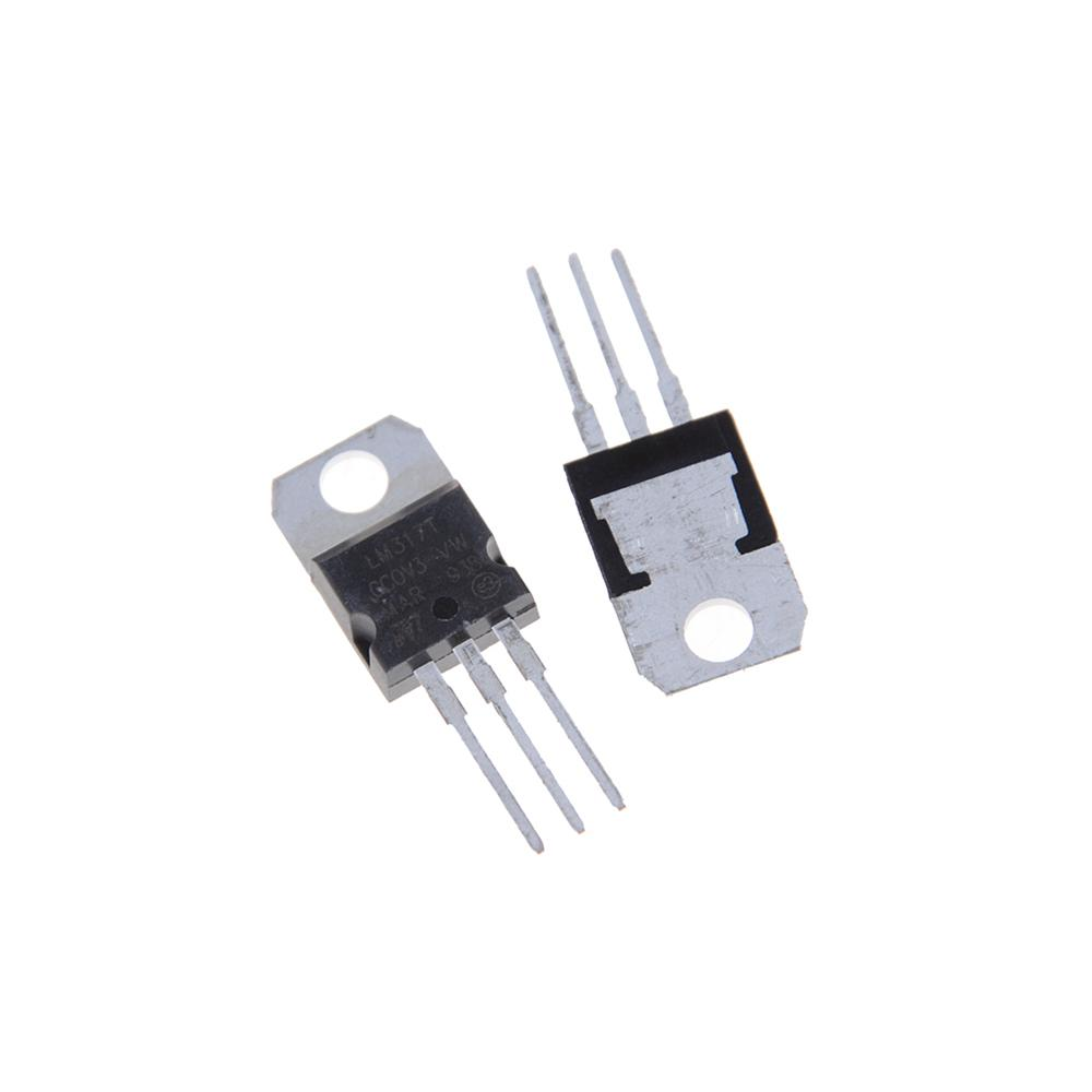 To 37V LM317T//LM317 Power Supply Stabilizers Three-Terminal Voltage Regulators