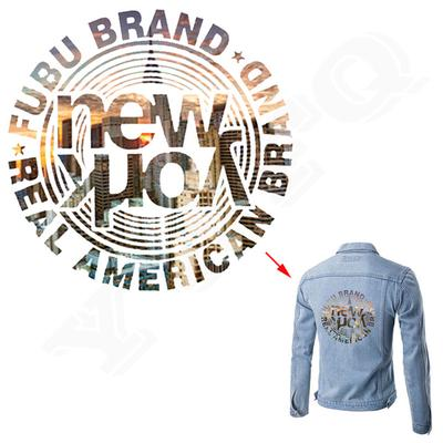 New York Iron On Patch Heat Transfer Decoration On Jeans Coat A-level Washable Stickers For Clothing