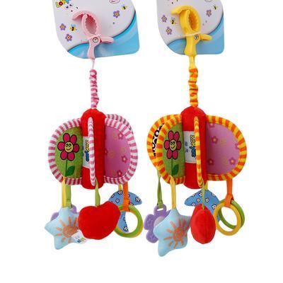 Animal Tortoise Clip On Pram Pushchair Baby Toy Infants Newborn Hanging Toys LH