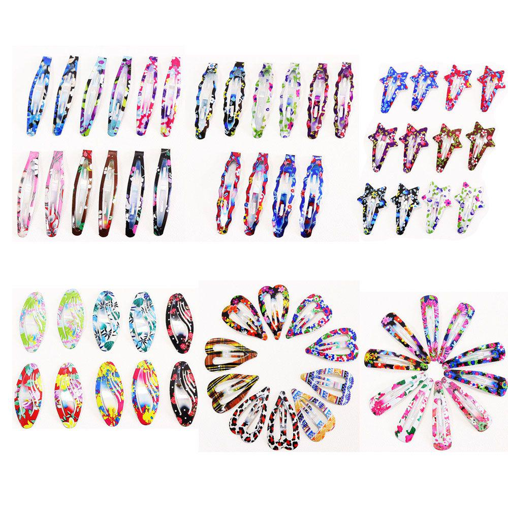 6//12pcs Lovely Children Cartoon Hairpin Barrette Hair Clips Grips Girls Gifts