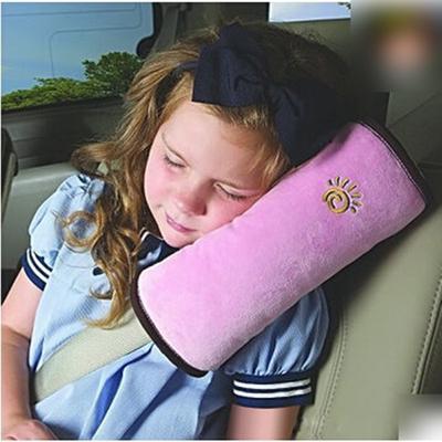 Universal Baby Children Car Safety Seat Belt Pillow Strap Soft Shoulder Pad Headrest Auto Car Cushion Support Children Protect