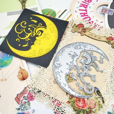 Moon girl Metal Die Cutter Mould Template Embossing Pattern Cutting Stencil DIY