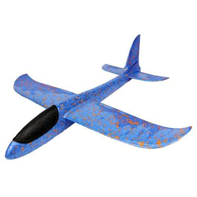 Foam Throwing Glider Airplane Inertia Aircraft Toy Hand Launch Airplane Model T