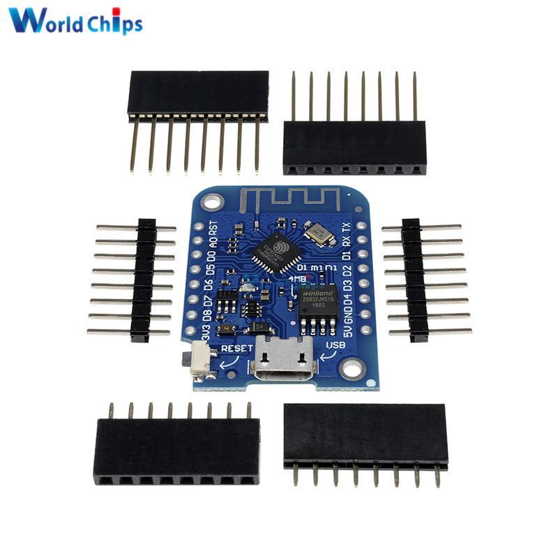 10PCS//LOT Breadboard Expansion Shield Pin Lithium battery For WeMos D1 Mini Module Sensor