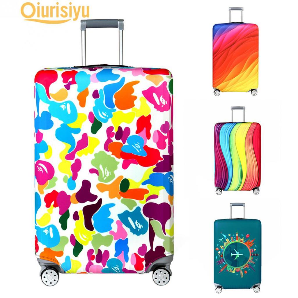 ENLI Luggage Cover,Clear PVC Transparent Travel Suitcase Protector Dust-Proof Cover for 20-30 Inch Luggage