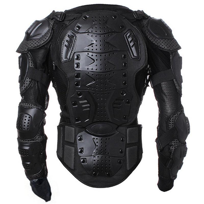 Kids Motorcycle Armor Suit Dirt Bike Chest Back Spine Protector Shoulder Arm Eblow Knee Pads Full Body Armor Vest for Bike Motocross Racing Skiing ICE Skating Hockey