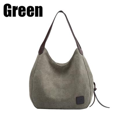 Fashion Shoulder Bags Female Package Canvas Bag Leisure Shopping Handbag aa6b816deb508