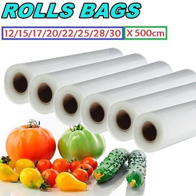 Pop Food Storage Bag Vacuum Sealer Embossed Fresh-Keeping Packing Case 1 Roll