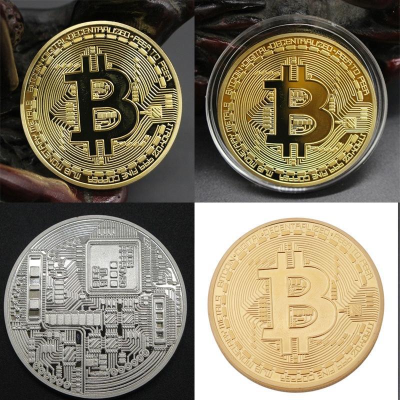 bitcoină comemorativă monedă)