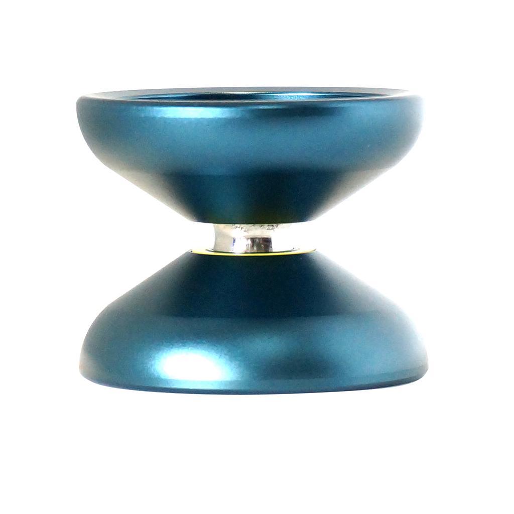 Magic YoYo N12 Unresponsive Professional Aluminum Alloy Yo-yo Ball with Durable String Lake Blue