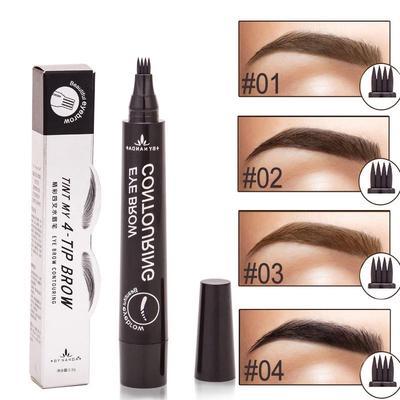 Women Eye Brow Tint Cosmetics Natural Long Lasting Paint Tattoo Eyebrow Waterproof Eyebrow Pencil