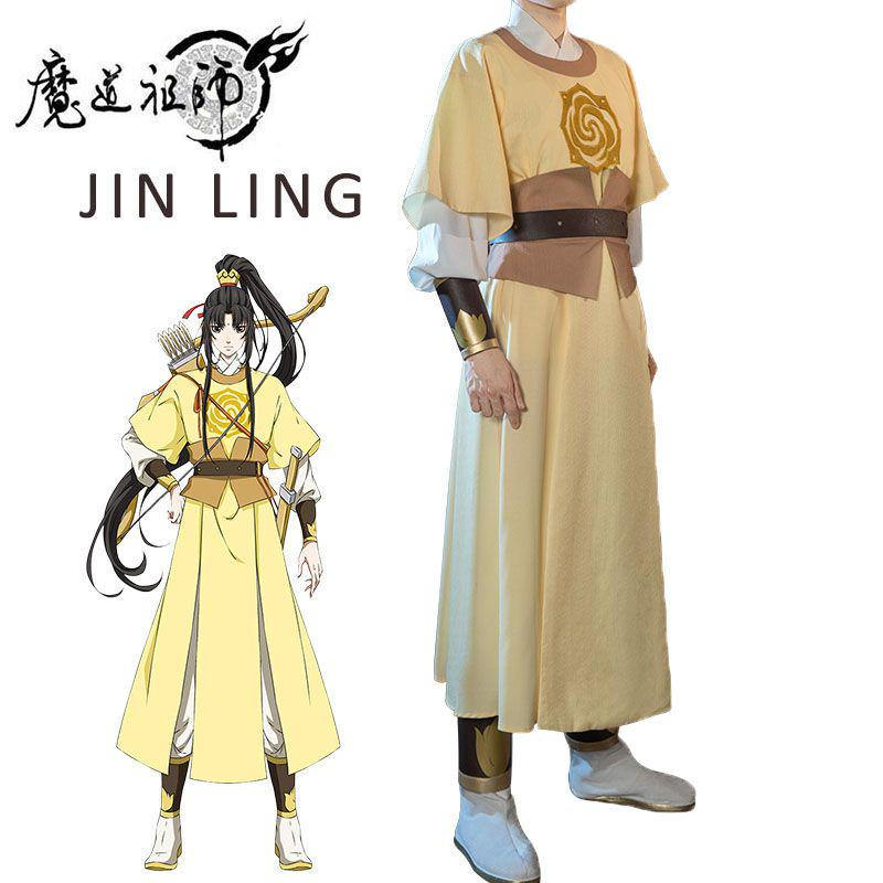 Anime Grandmaster of Demonic Cultivation Modao Zushi Jin Ling Cosplay Costumes
