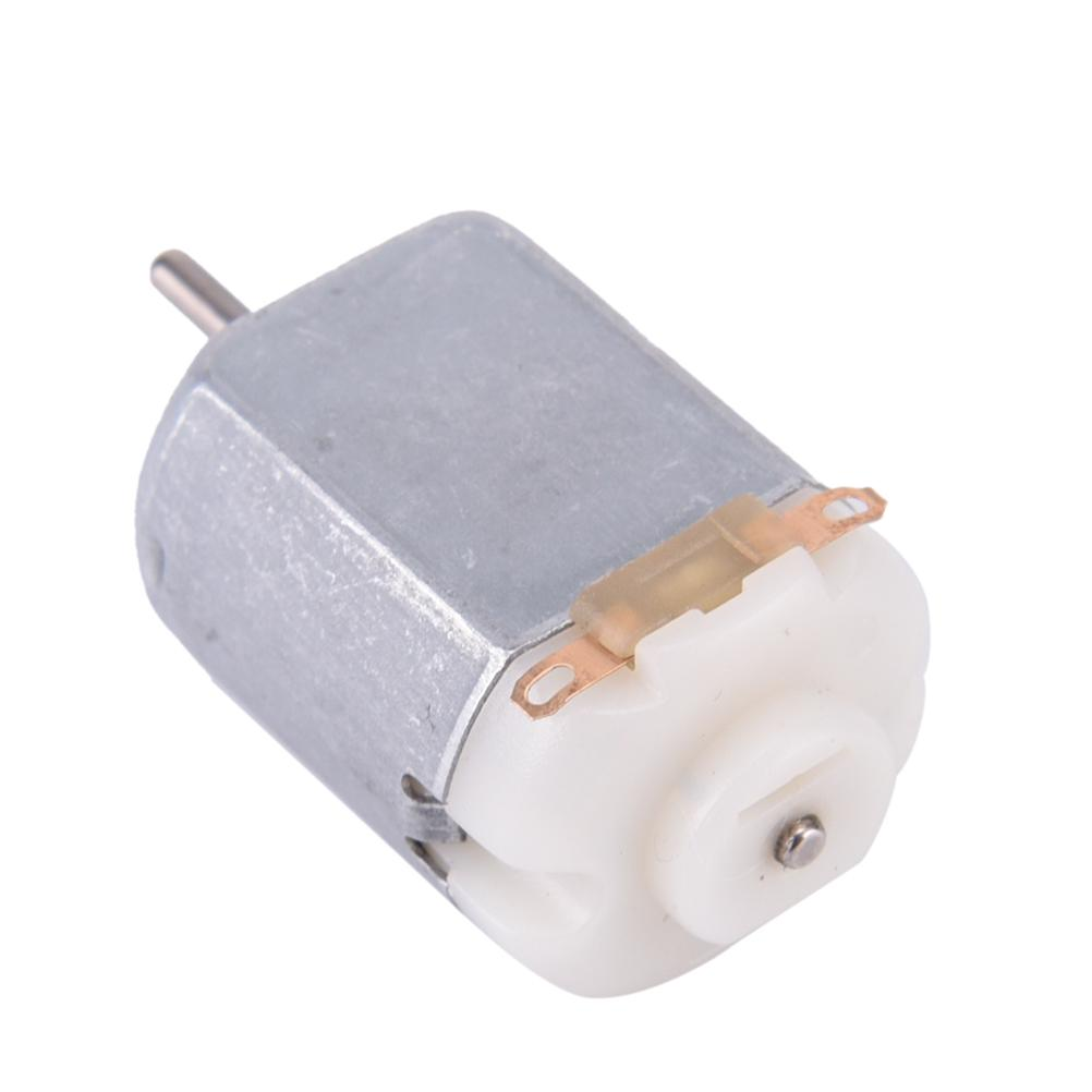 3Pcs Miniature DC Motor DIY Toy 130 Small Electric Motor 3V to 6V Low VoltageCO