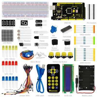UNO R3 Project Complete Starter Kit With Detailed Tutorial