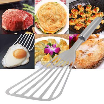Acier Inoxydable Burger//poisson Slice fendue Turner Spatule de cuisine cuisson outil