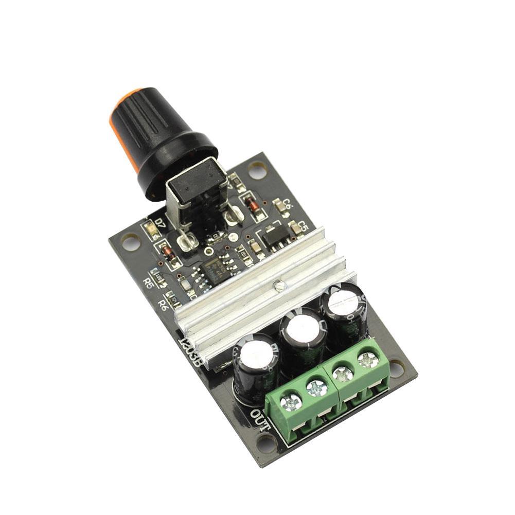 DC 6V-28V 3A PWM Motor Speed Variable Regulator Controller Switch