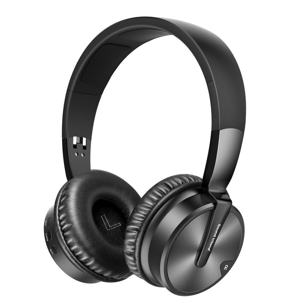 c11e456cfbc Moda estéreo de 4D alrededor de juegos plegable Bluetooth ...