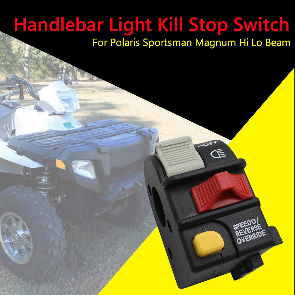 Handlebar Light Kill Stop Switch For Polaris Sportsman 01-05 Magnum Hi Lo Beam