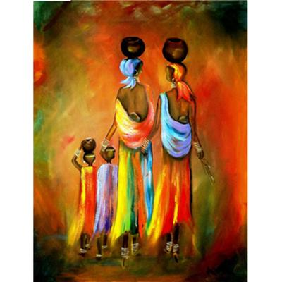 African Women Paint 5D Diamond Embroidery Diamond Mosaic Cross Stitch Home Decor