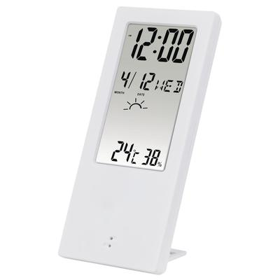 Indoor//Outdoor Digital Thermometer Dual Temperature Humidity Meter 10~50℃ TA298 large Screen Support ℃ and ℉ Display Office School