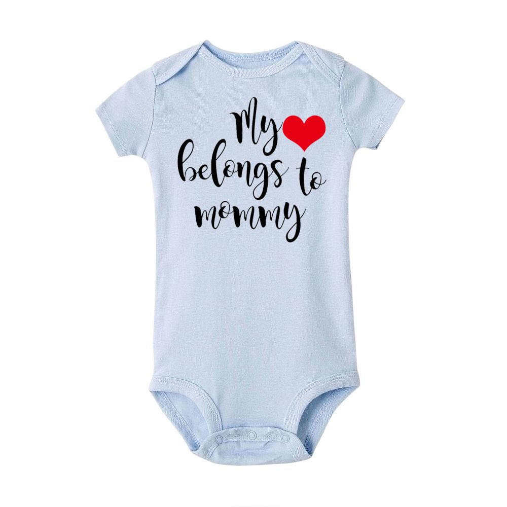 Best Daddy Ever Unisex Baby newborn clothes Baby Shower Gifts Infant Heart 63