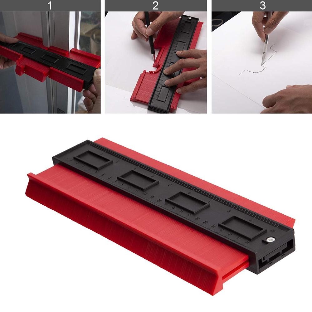 NEW Multi-functional Saker Contour Gauge Profile Tool Mark and Cut Any Shape
