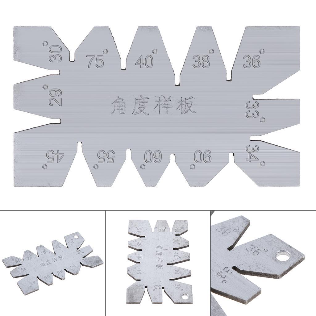 Alliage DAluminium Menuiserie Menuiserie Hauteur R/ègle Angle R/ègle Triangle R/ègle Hauteur Mesure Haute Pr/écision Mini Protractor Positionnement Jauge R/ègle