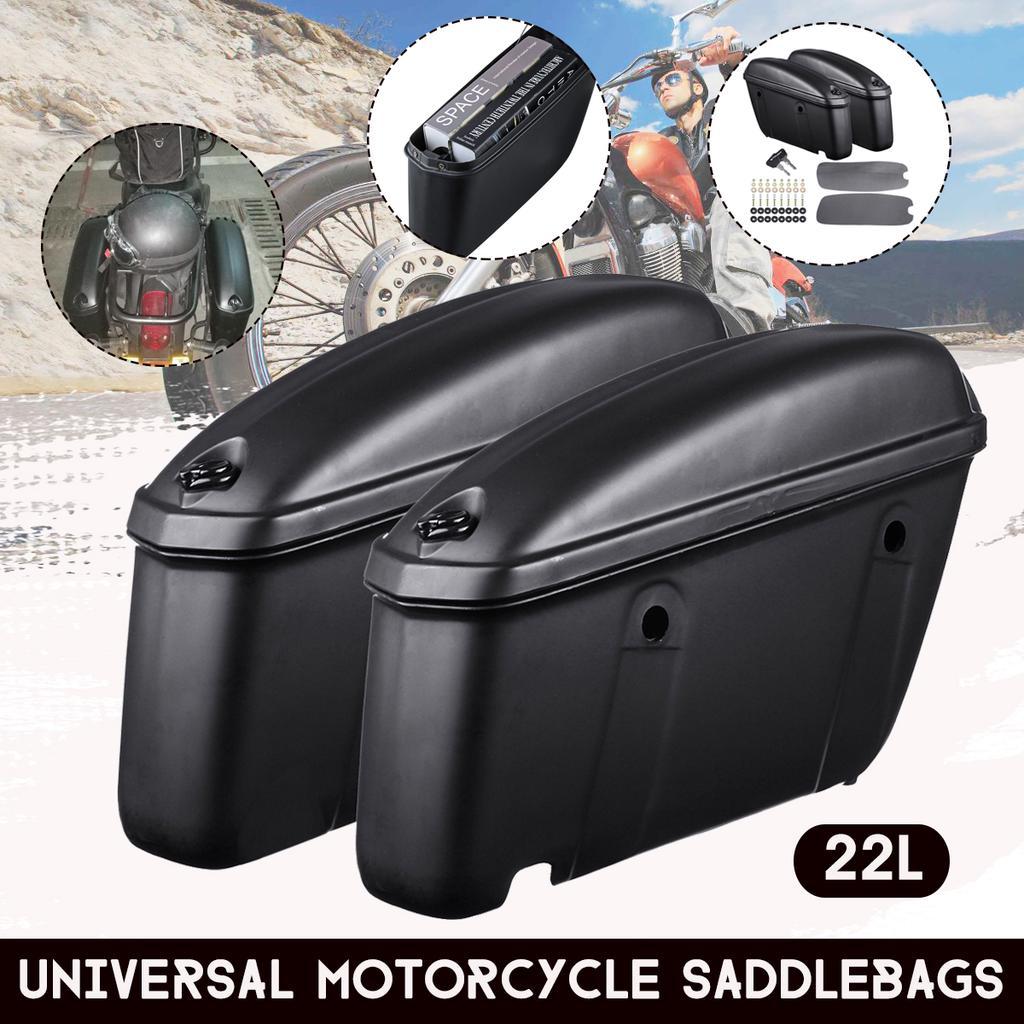 2 Pcs Cerradura de Paquete de Viaje Alforja para Motocicleta Multiusos