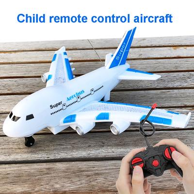 Ocamo Kids RC Airplane Toys A380 Airbus Toys with Music and Lights Large Electric Remote Control Airplane Toy for Indoors//Outdoors Flight Toys