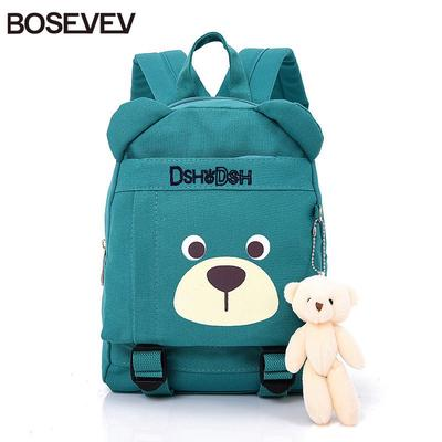 Black Colors Backpack for Children Kindergarten Nylon School Bags 5 Solid  Baby Girls Boys Schoolbag 8f5593a32b283