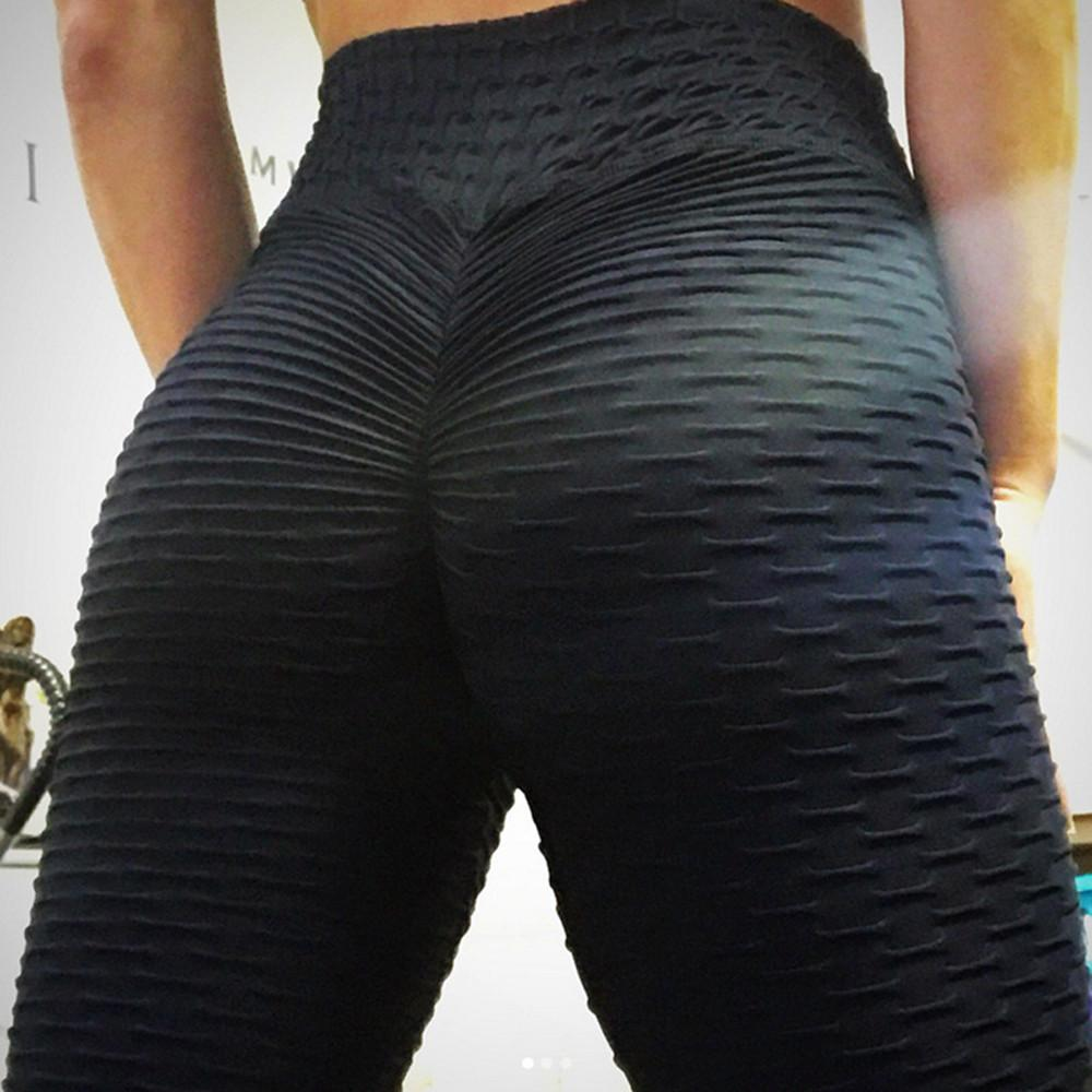 Kabeloring Femmes Legging Opaque Sport Taille Haute Butt Lifting Leggings Push Up Jegging Anti Cellulite Femmes Yoga Pants Slim Fit Butt Lift Pantalon High Waist pour Gym Running Pilates Fitness