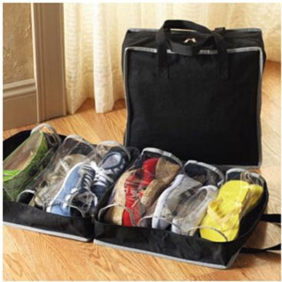 Travel Organisers Two Kittens Packing Suitcase Clothes Underwear Shoes Laundry Makeup Toiletries