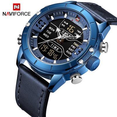 Men Watch Dual Display Analog Digital Waterproof Men Wristwatch Clock Luxury Chronograph Male Watches