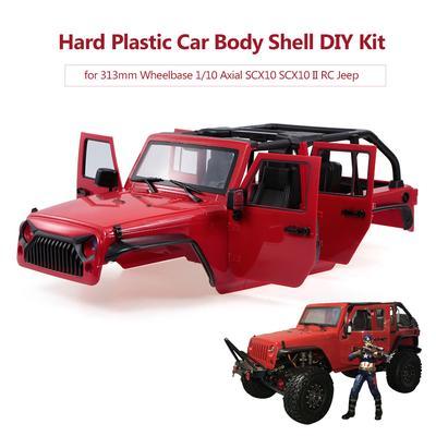 For Axial SCX10 II 90046 1//10 RC Wheelbase Jeep Wrangler Body Shell Roll Bar New
