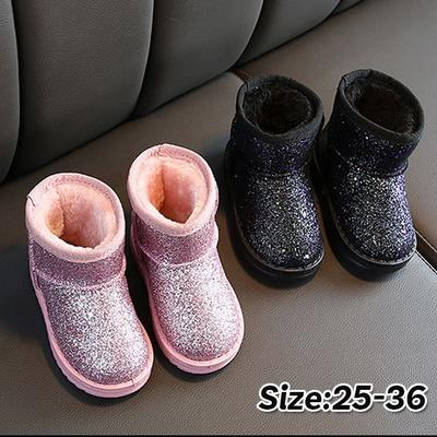 Baby Boy Girl Comfortable Corduroy Warm Booties Infant Toddler Winter Snow Boots