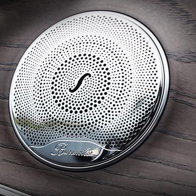 stainless steel car audio speaker door trim covers For Mercedes Benz AMG  C200 C260 C180 W213 W205