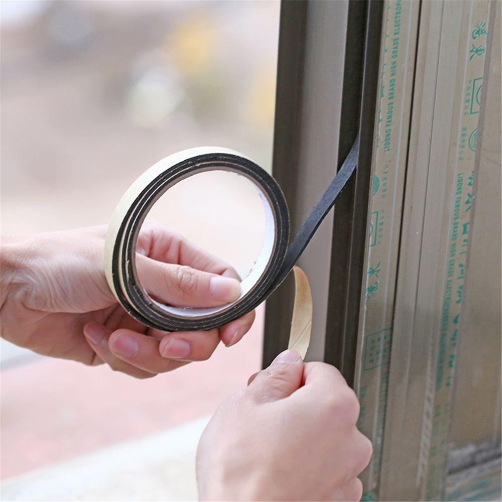 Neue Gasherd Schlitz Streifen Antifouling Staubdicht Wasserdichte Abdichtung Küche Schwarz Selbstklebende Tür Fenster Dichtleiste Hardware Fenster Hardware