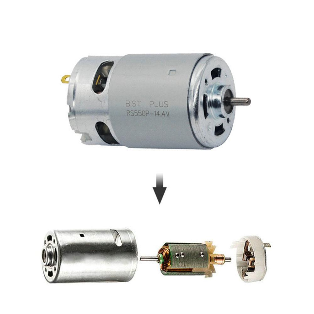 RS550 10.8V 19500 RPM DC Motor with Two-speed 11 Teeth and High Torque Gear Box