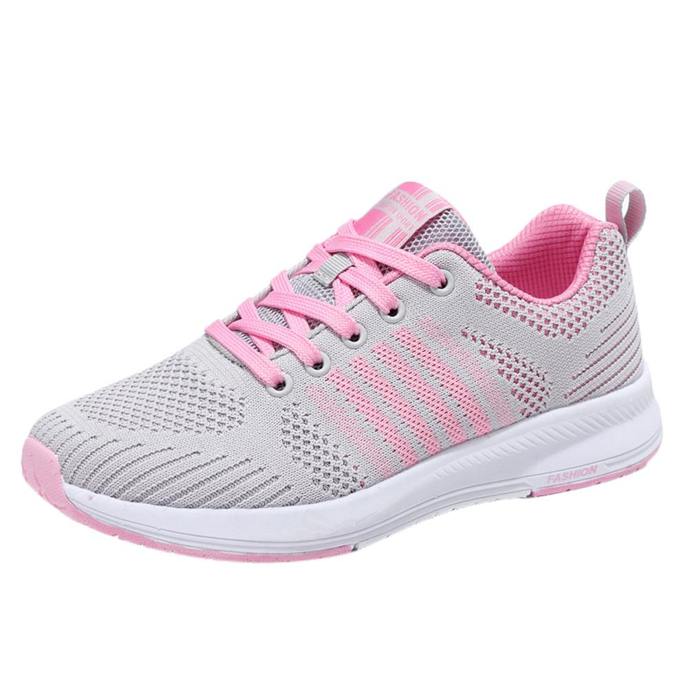 2017 Women Sneakers Breathable Sport Shoes Female Running Athletic Lightweight