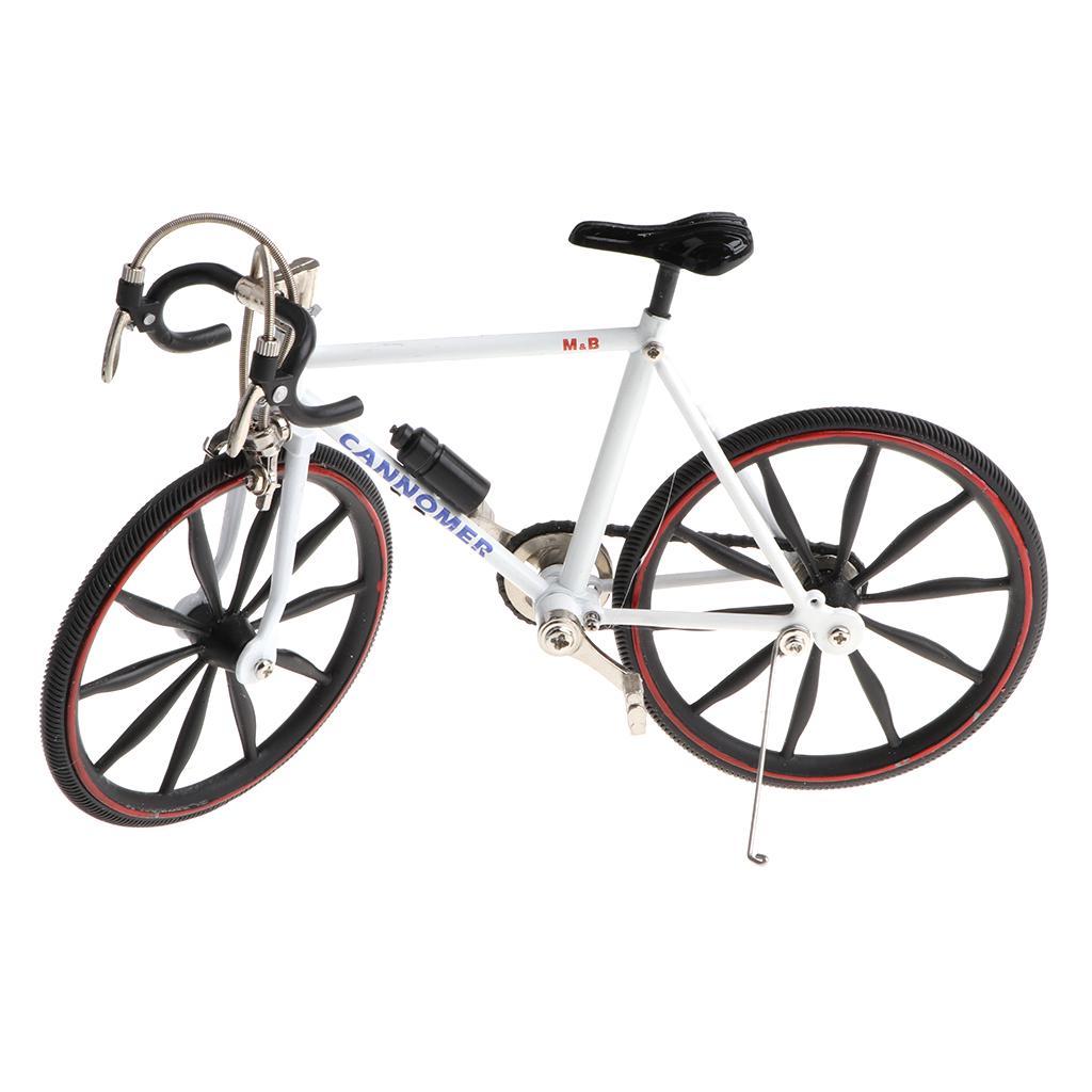 Mini BMX Mountain Bicycle Bike 1//12 Dollhouse Miniature High Decors Toys