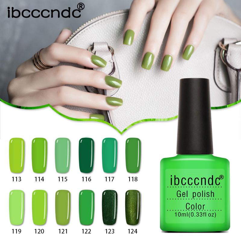 Excepcional Gel Verde Esmalte De Uñas Friso - Ideas de Pintar de ...